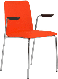 Elite Multiply Breakout Fully Upholstered Chair With Arms