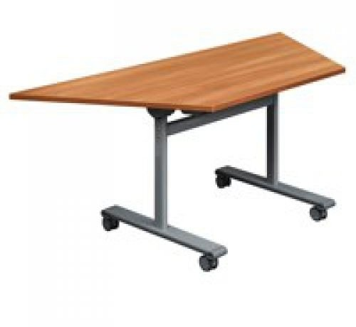 TC Office One Tilting Trapezoidal Table 1600 x 720 x 800mm
