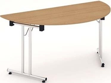 Gentoo Folding Semi-Circle Table 1600 x 800mm