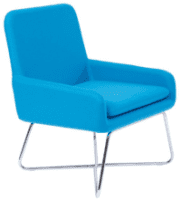 Groove Skid Frame Chair