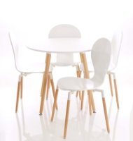 Gentoo Parisian Bistro Table & 4 Chairs